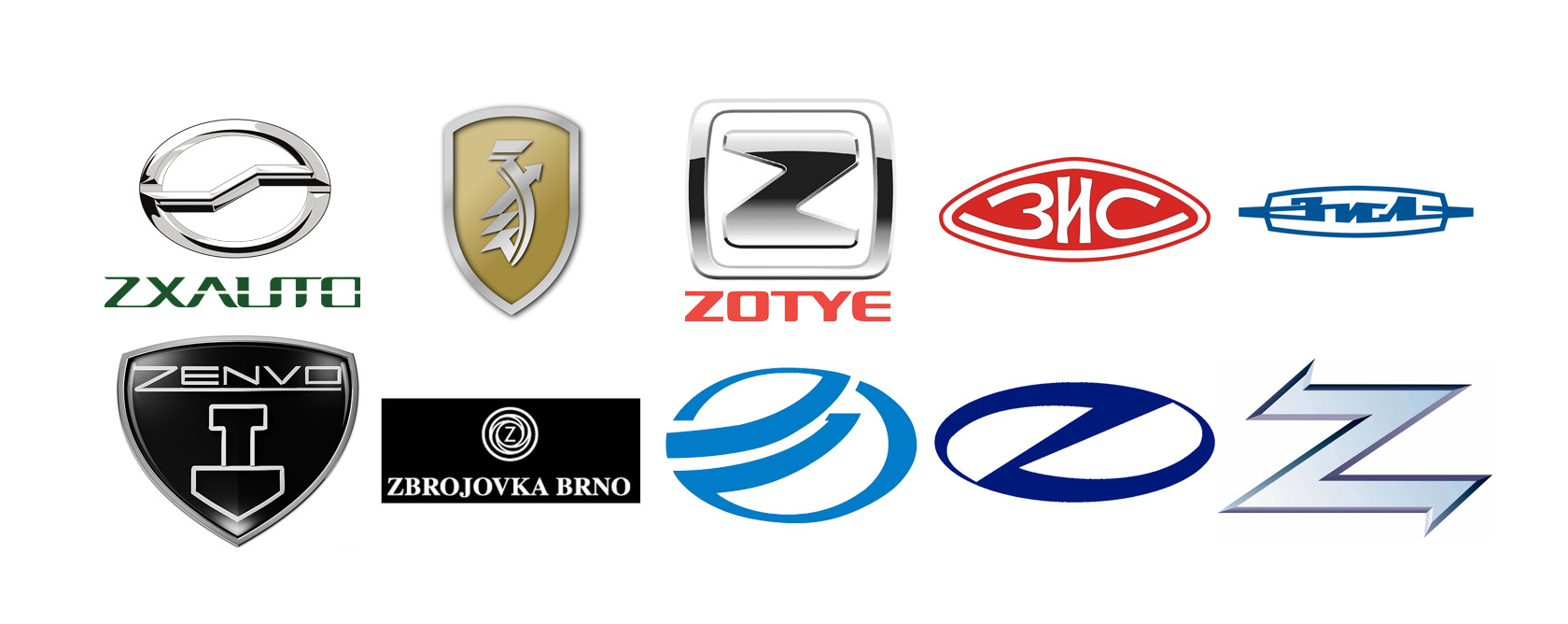 List of Car brands a z with pictures