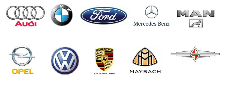 German Car Logos German Automobile Symbols World Cars Brands