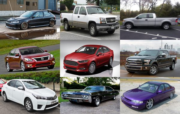 10 Most-Stolen Cars in America