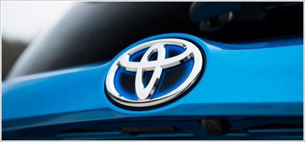 Toyota logo color