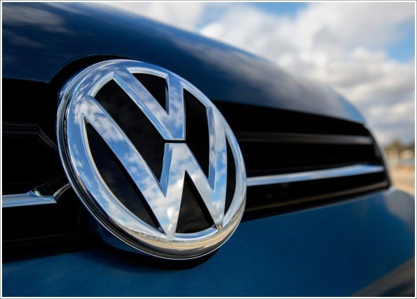 Volkswagen logo colors