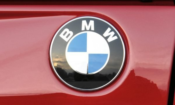 red BMW logo