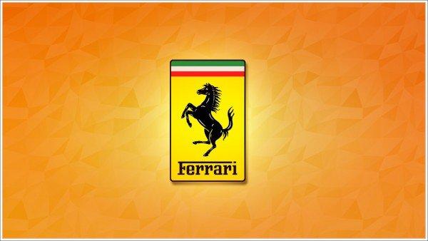 Ferrari logo colors
