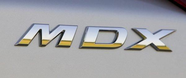 Acura mdx logo