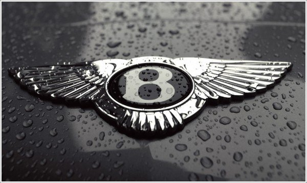 Bentley car emblem