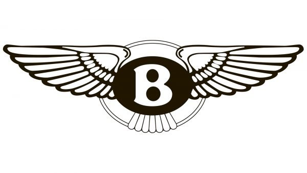 bentley logo black and white
