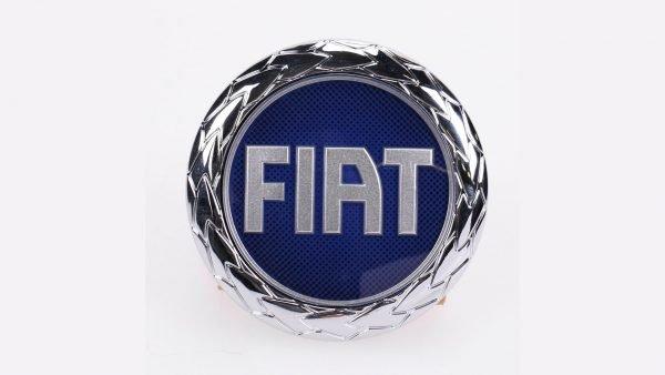 fiat logo blue