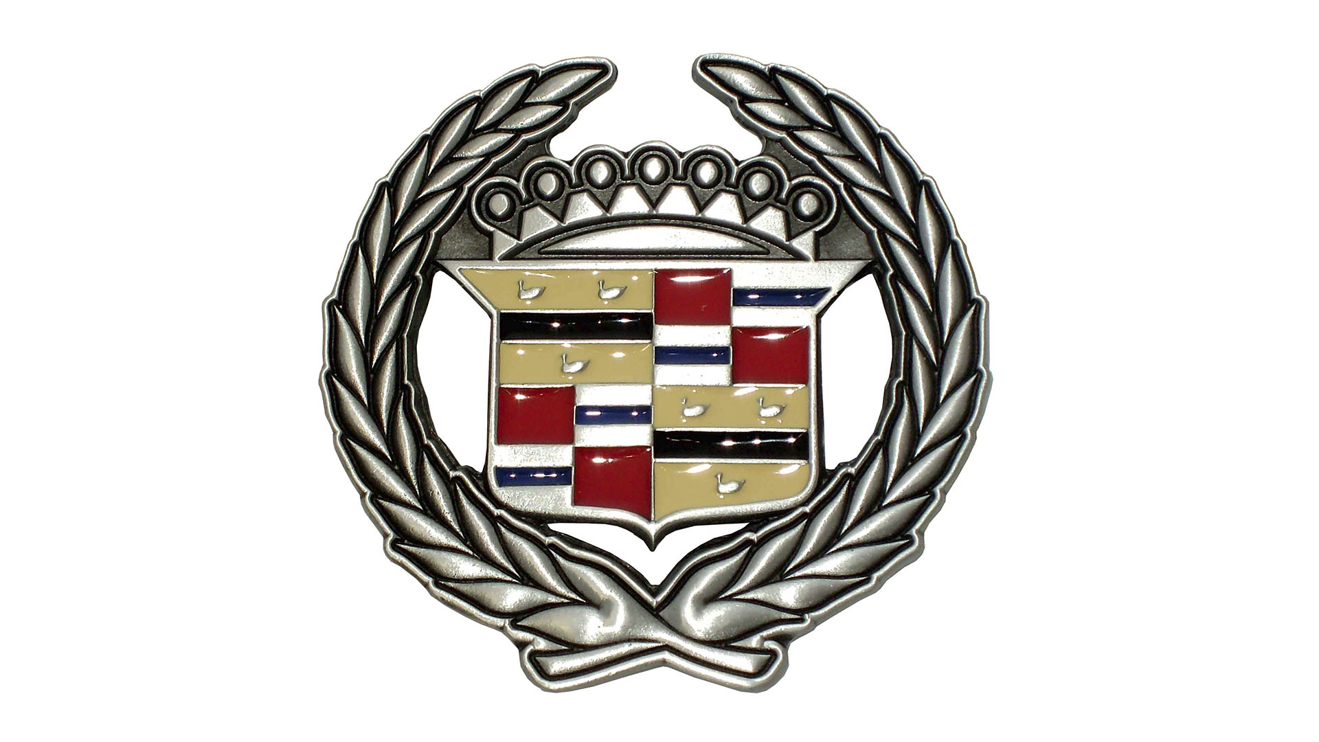 In 2017 The Cadillac Company Officially Introduced New Logo It Lost Laurel Wreaths Adorning Coat Of Arms