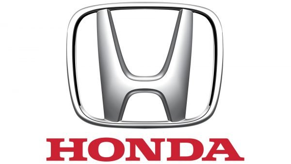 honda logo white