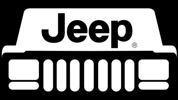 jeep logo black and white