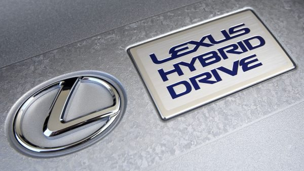 lexus hybrid logo