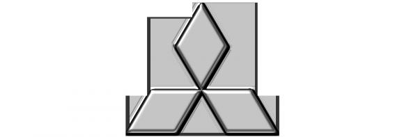 Mitsubishi logo car