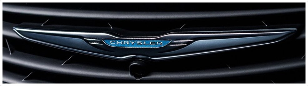 chrysler logo meaning and history latest models world