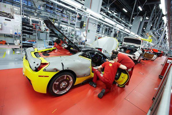 Ferrari manufacturer