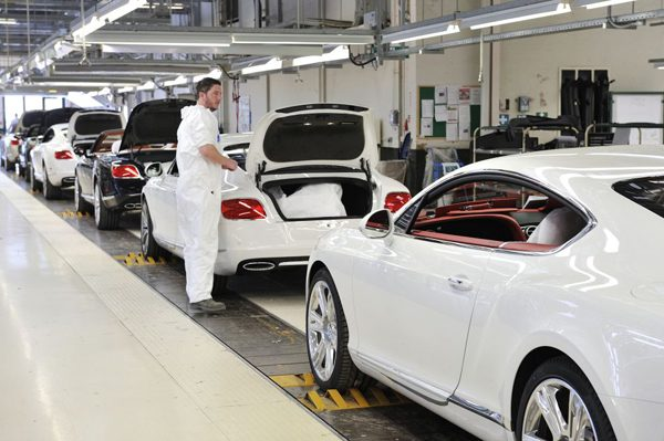 where-is-bentley-made