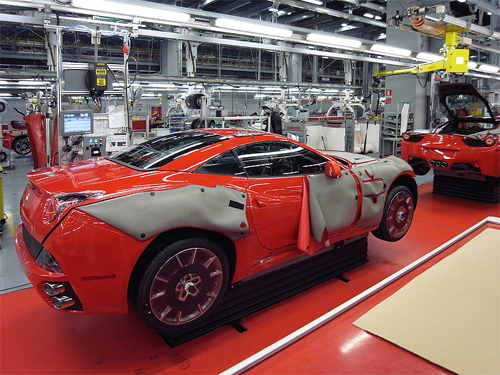 where-is-ferrari-made