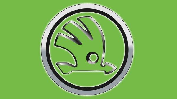 Color Skoda logo