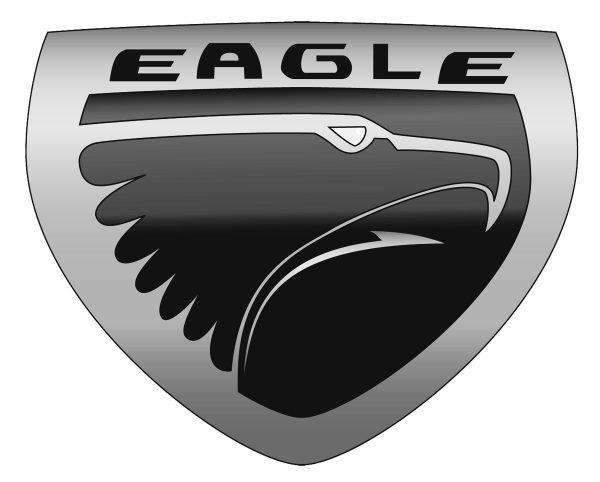 Eagle symbol car