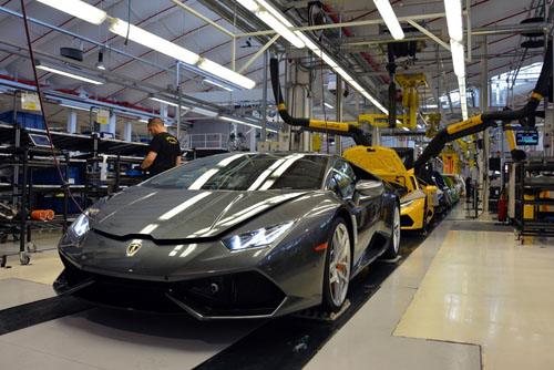 where-is-lamborghini-made