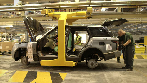 where-is-range-rover-made