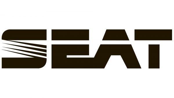 seat logo black