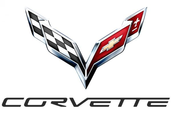 Corvette car logo