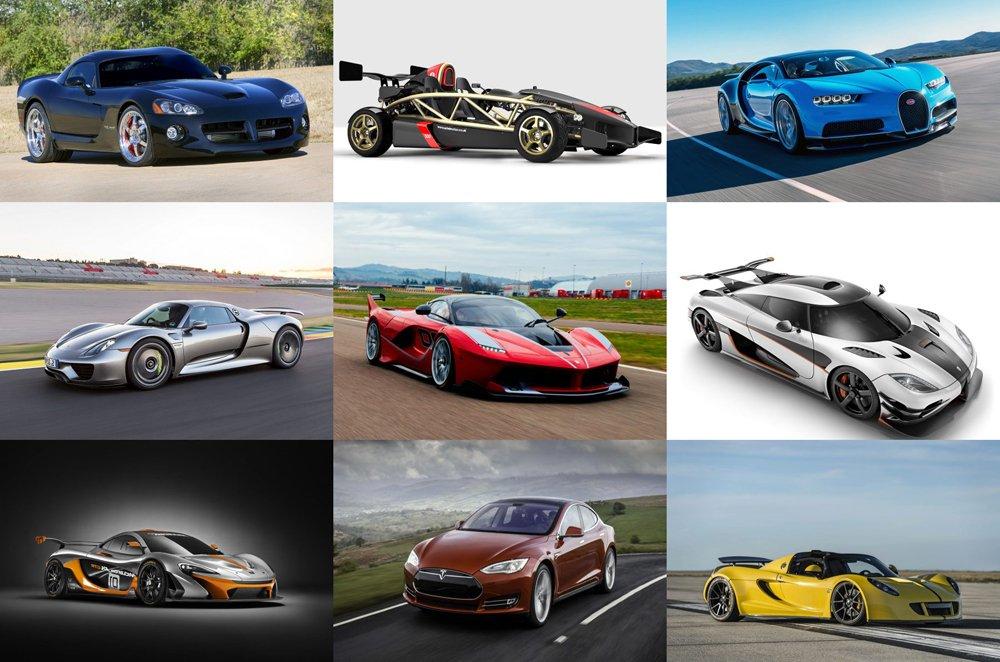fastest cars 0 60 - 1000×662