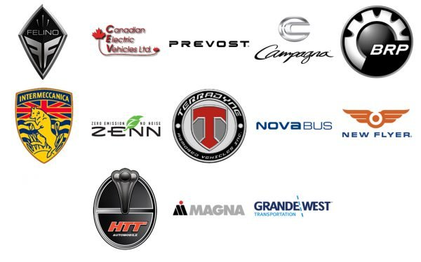Canadian Car Company Logos