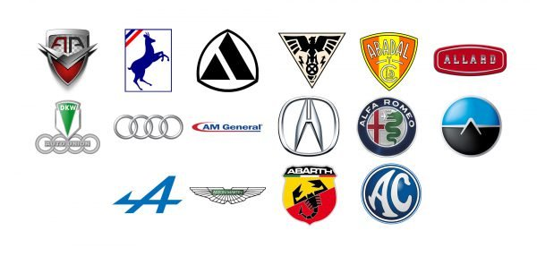 Car brands that start with A