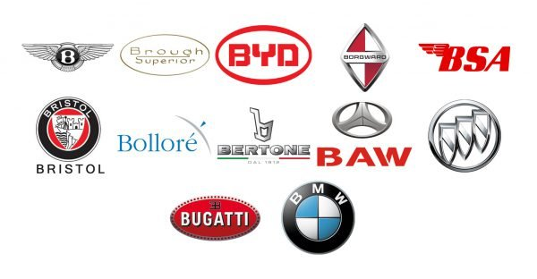 Car brands that start with B