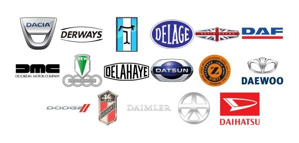 Car brands that start with D