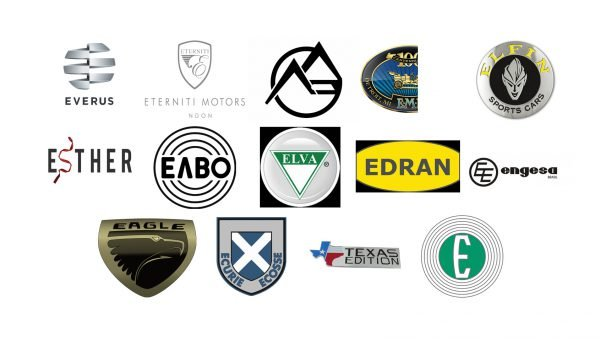 Car brands that start with E