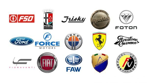 Car brands that start with F