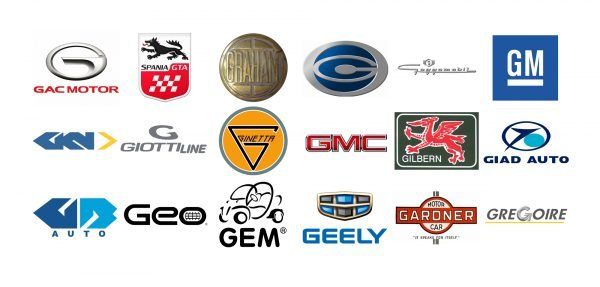 Car brands that start with G