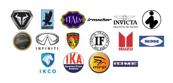 Car brands that start with I
