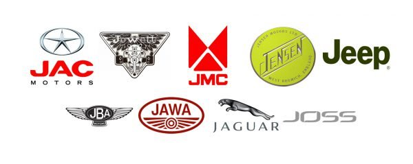 Car brands that start with J