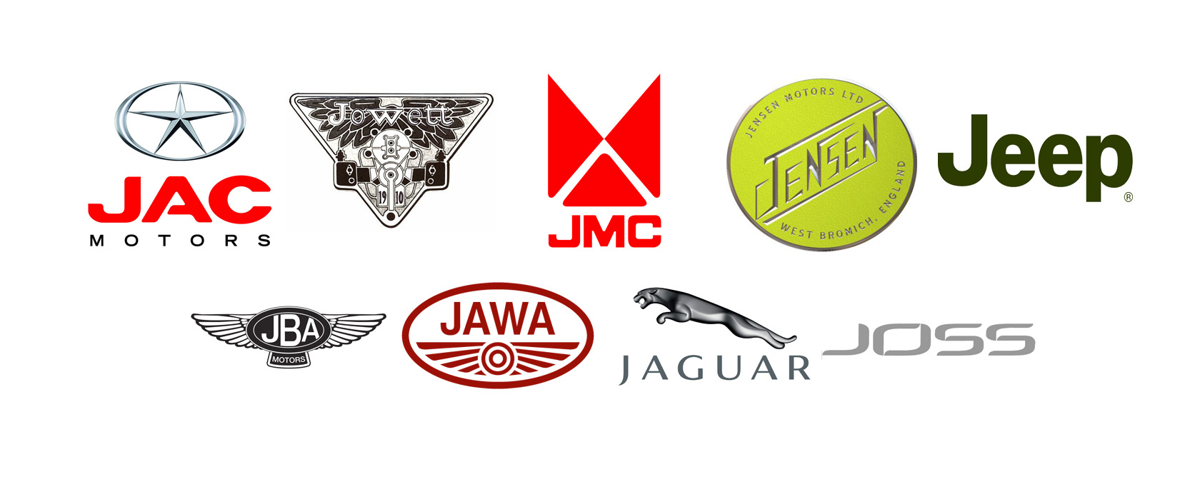 Cars That Start With J >> Car Brands With A Z
