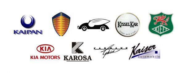 Car brands that start with K
