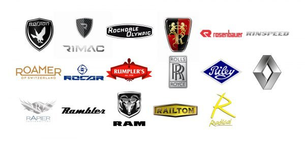 Car brands that start with R
