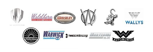 Car brands that start with W