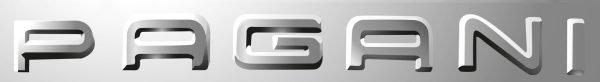 Font Pagani Logo