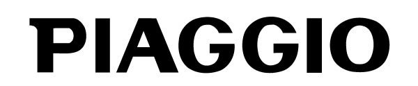 Font Piaggio logo