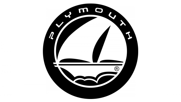 Plymouth logo car