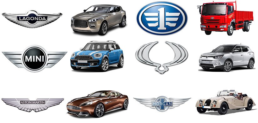 26+ Car Logos With Wings: The Complete List