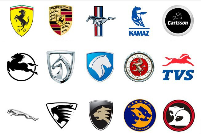 55 Car Logos With Animals