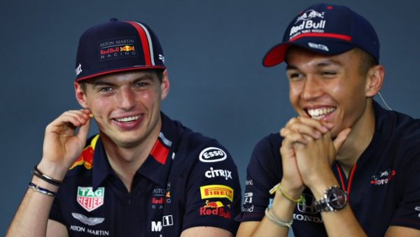 Red Bull (Max Verstappen and Alex Albon)